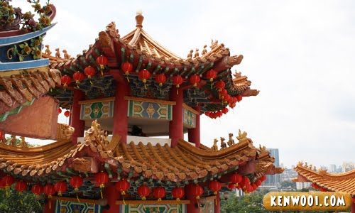 thean hou temple tower