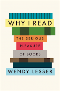 Why I Read book cover Wendy Lesser