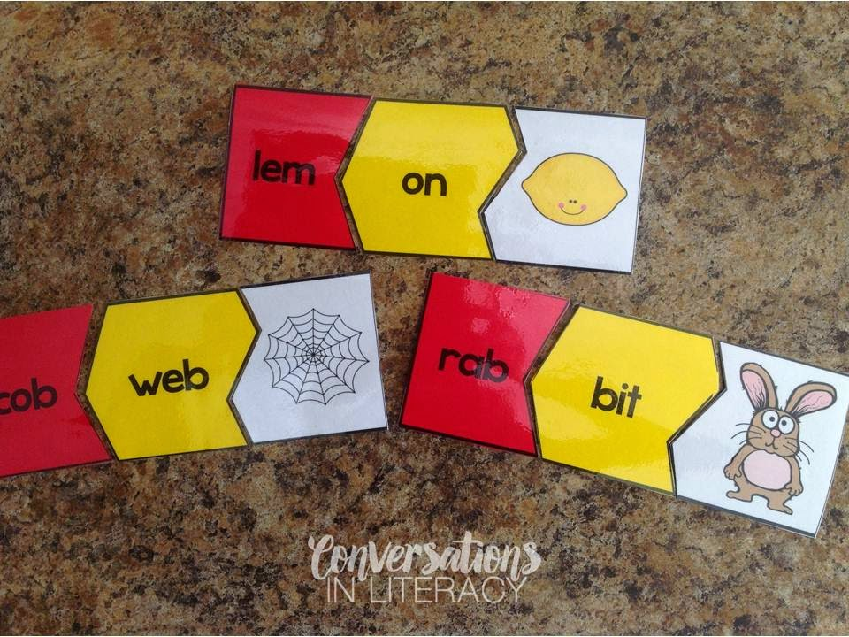 Closed Syllable Multisyllabic Activities
