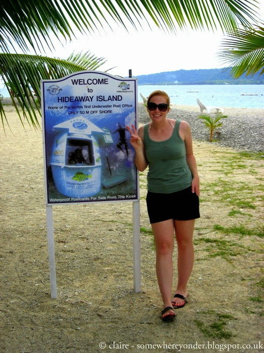 Hideaway Island - Vanuatu, the home of the underwater Post Office