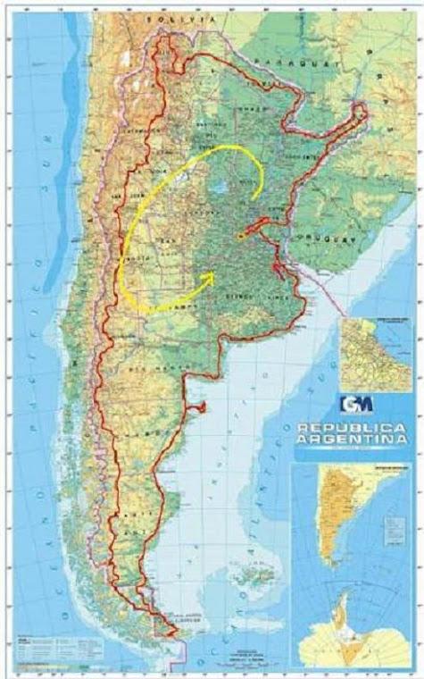 Argentina en moto, la ruta: