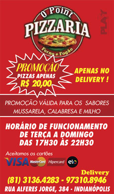 O POINT PIZZARIA