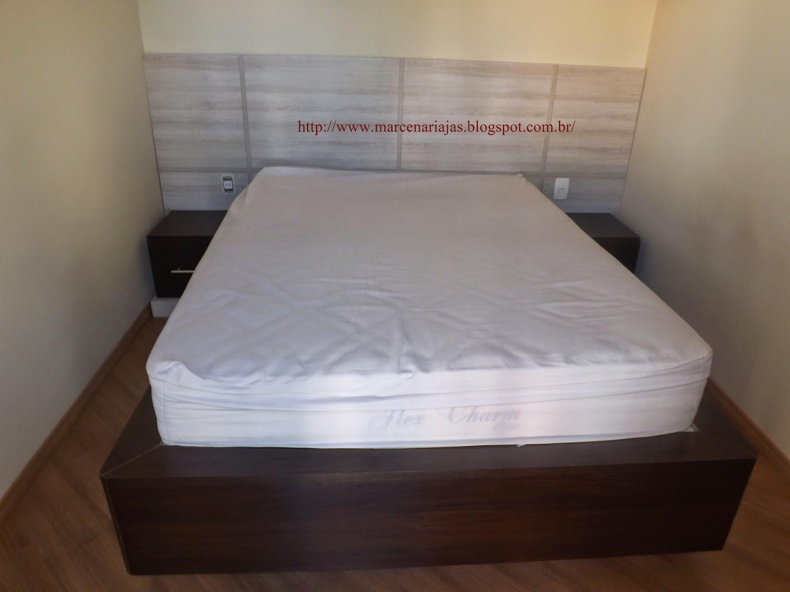 saia de madeira para cama box