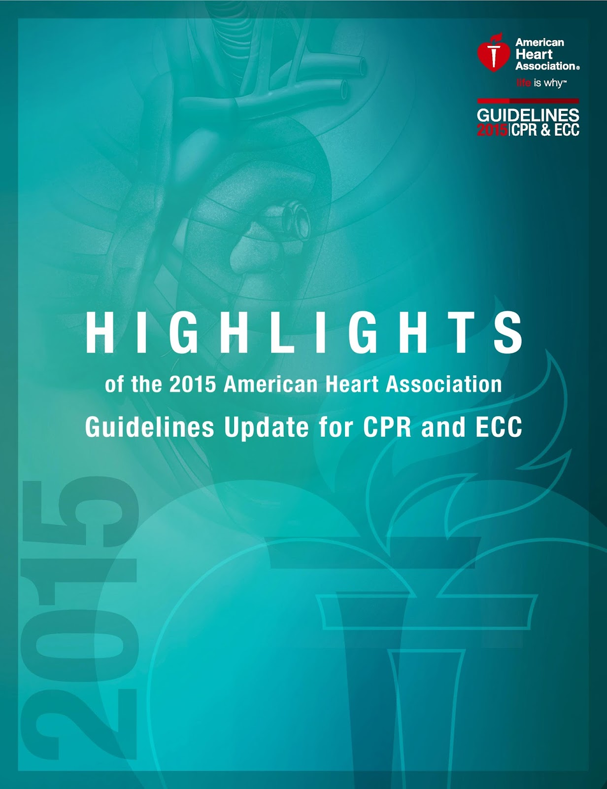 What are some American Heart Association guidelines for CPR?