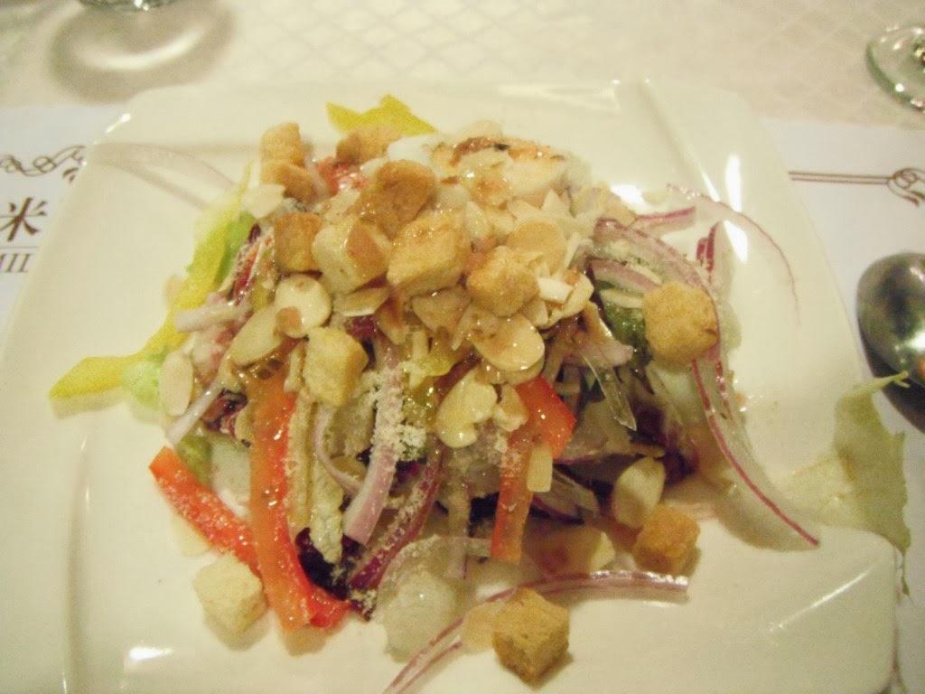 我的小小幸福: 20131006[食記]台南- 米蘭西餐廳