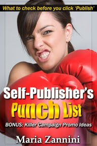 Self-Publisher&#39;s Punch List