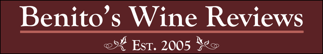 Benito's Wine Reviews