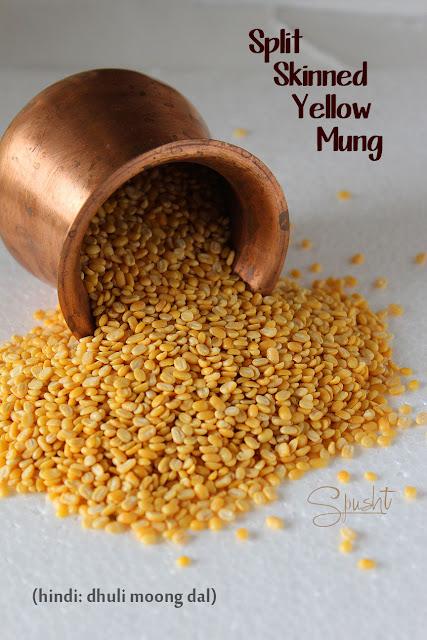 Spusht | Split Skinned Yellow Mung | Hindi: Dhuli Moong Dal