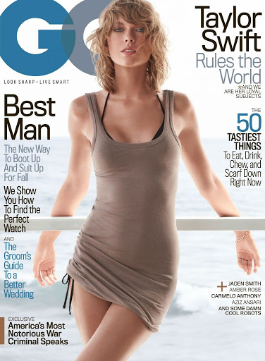 Taylor Swift GQ Magazine November 2015 cover