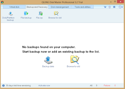 QILING Disk master Pro – Perfect Data Backup and Disaster Recovery Tool