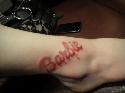 Barbie Tattoos for Girls