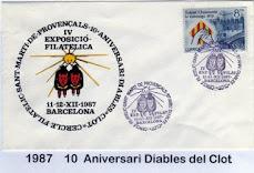 Sobre oficial Expofil'87