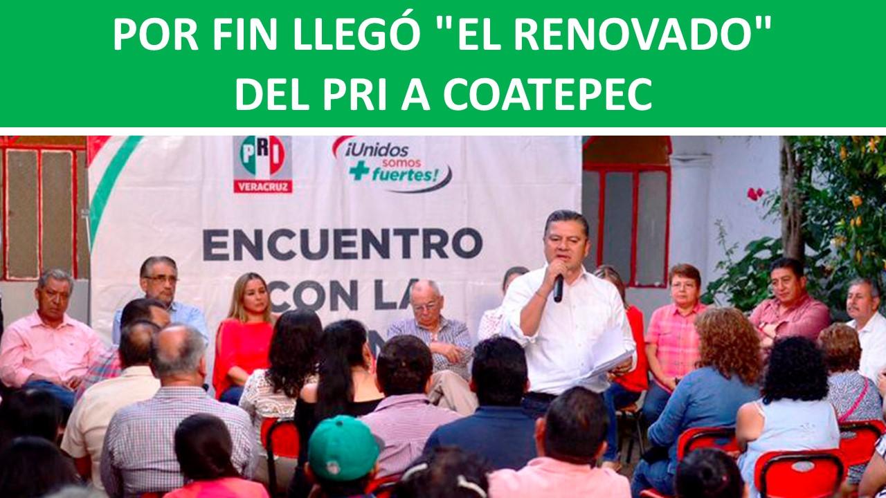 """""""EL RENOVADO"""" DEL PRI"""