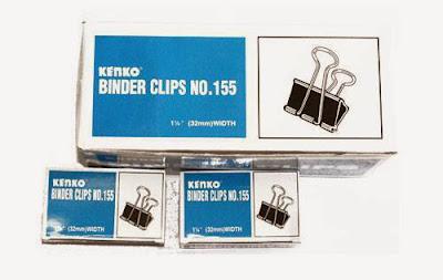 binder clip kenko 155