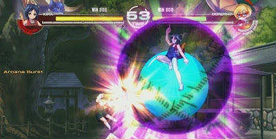 Arcana Heart 3, xbox, game, screen