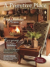 2011 Winter/Holiday Issue of A Primitive Place &amp; Country Journal magazine