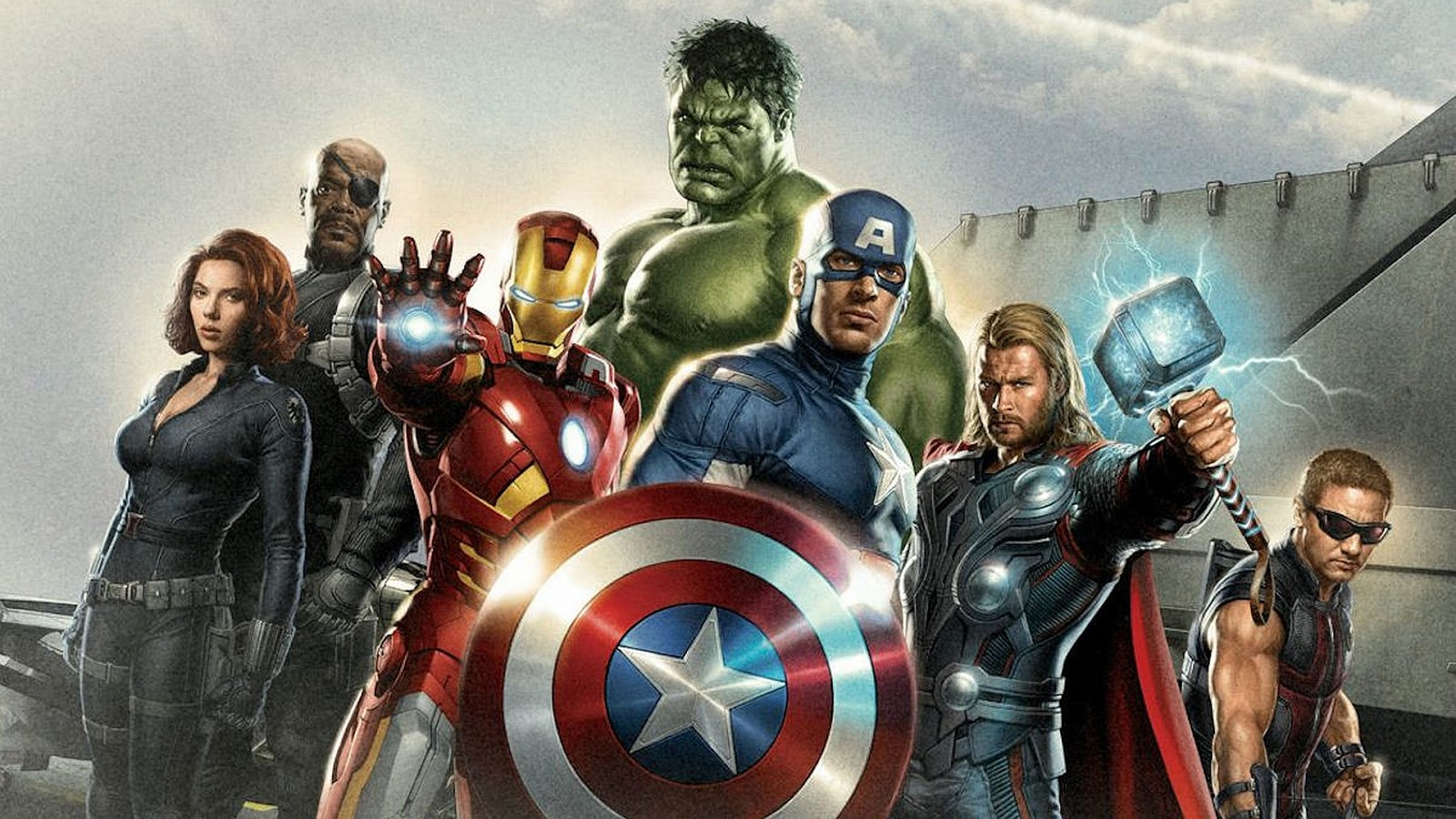 Marvel Comics The Avengers Wallpaper