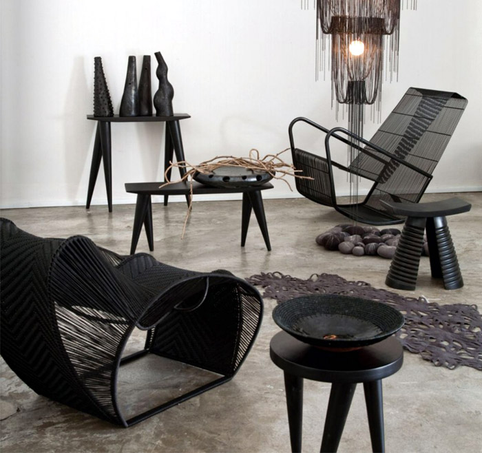Amaridian a new african era for African american furniture designers