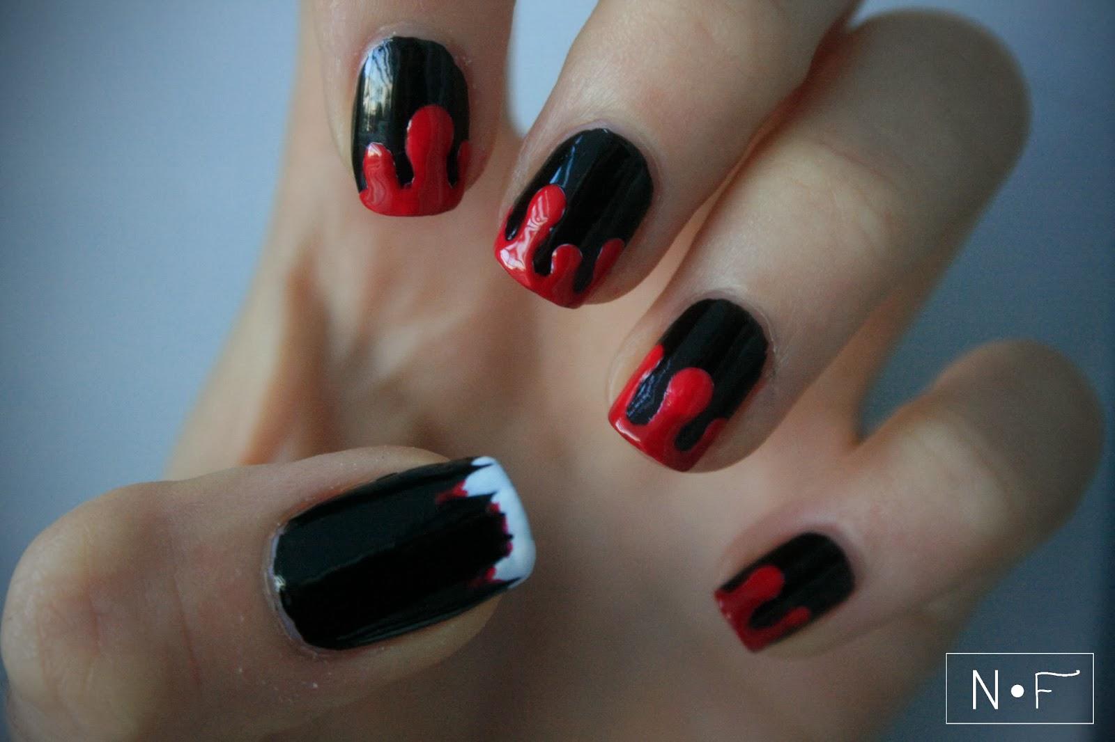 http://nerdyfleurty.blogspot.com/2013/10/vampire-nails.html