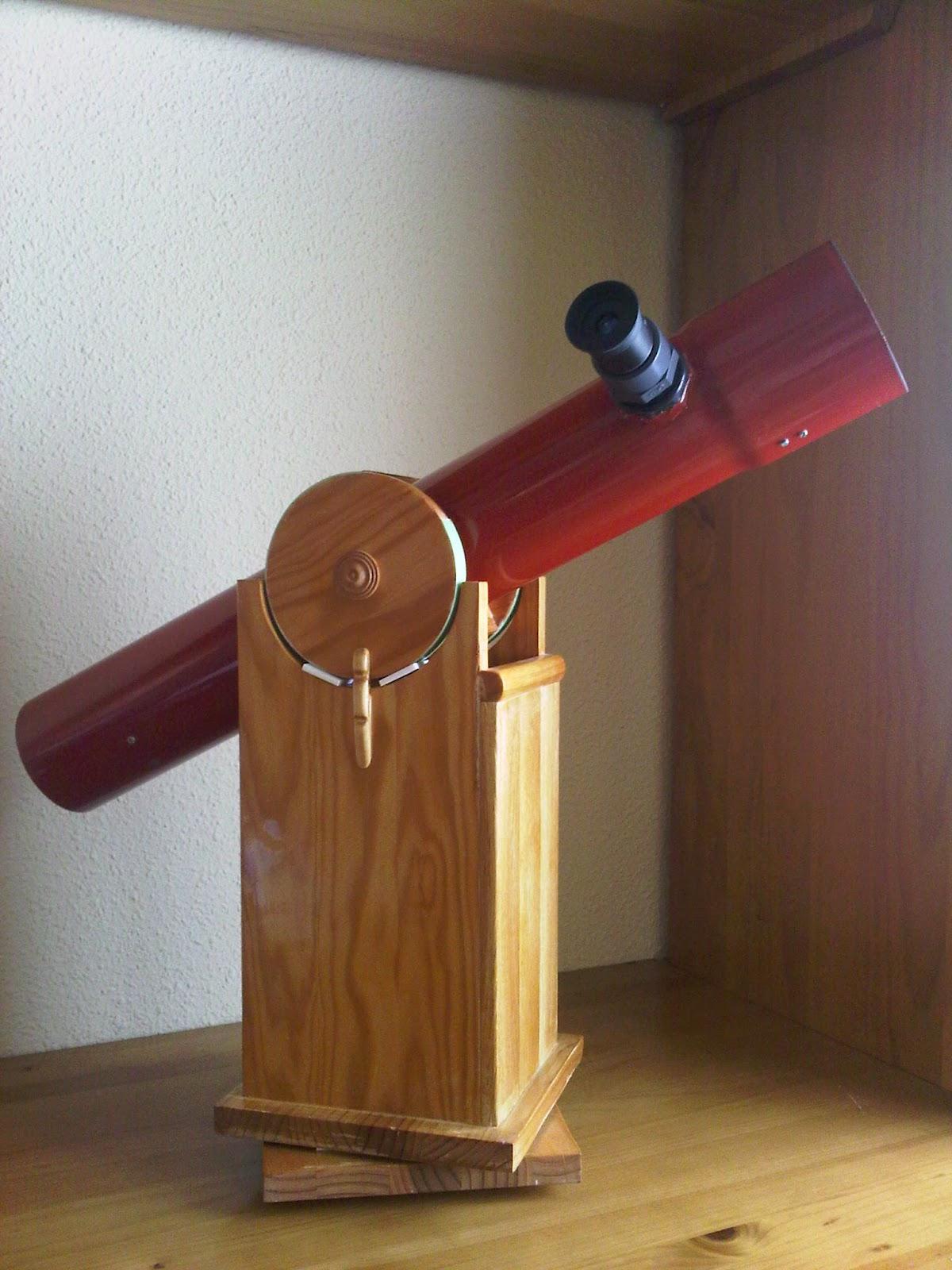 Yo miro al cielo un peque o telescopio dobson de for Como hacer criadero de truchas