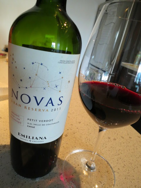 Wine review of 2011 Emiliana Novas Gran Reserva Petit Verdot from Colchagua Valley, Chile
