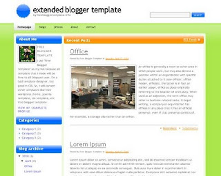 Extend template,bloggertrix