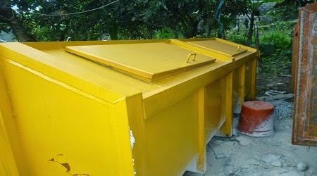 Kontainer bak sampah