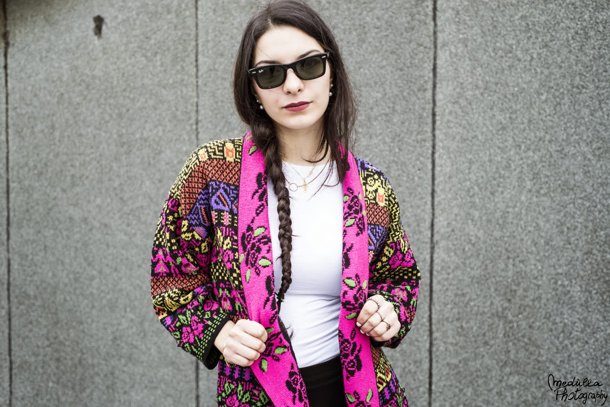Spring Trends, Spring 2015, Street Style, Peruvian cardigan, Francesca Navarro, the frugal mix