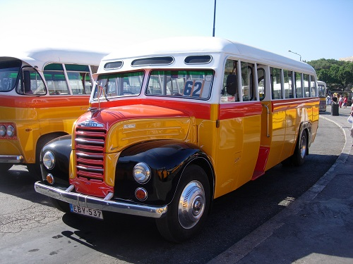 Old School Malta Bus