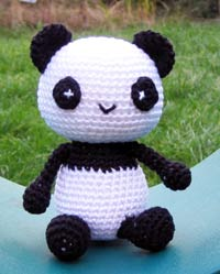 Little Panda: free pattern