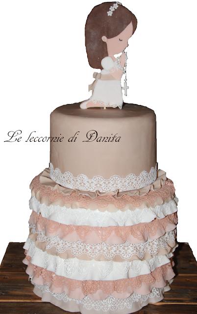 torta prima comunione....della mia principessa!!