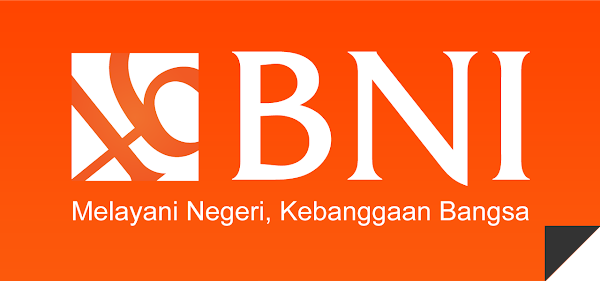 Logo Bank BNI Orange BG