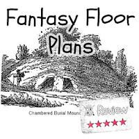 Frugal GM Review: Fantasy Floor Plans Tombs & Tumuli