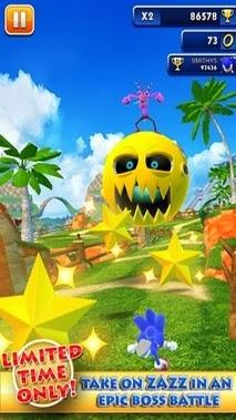 Sonic Dash apk free download