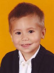 Santi a los 2 años, en octubre de 2005