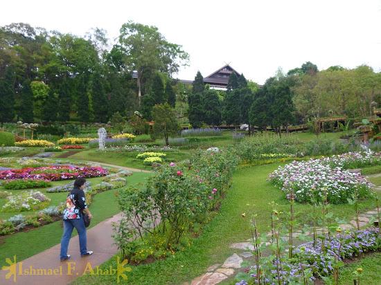 Doi Tung Royal Villa as viewed from Mae Fah Luang Garden