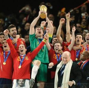 España campeona del Mundo Sudáfrica 2010