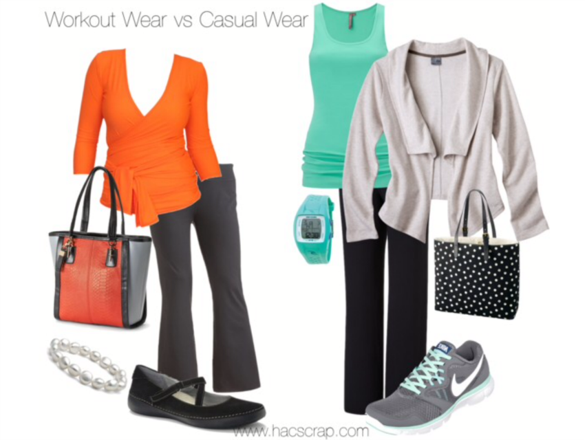Stylish ideas to take your worout wear to casual wear