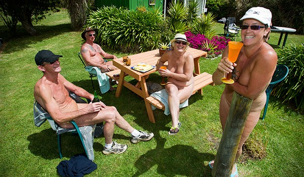 Nudist colony activity pics
