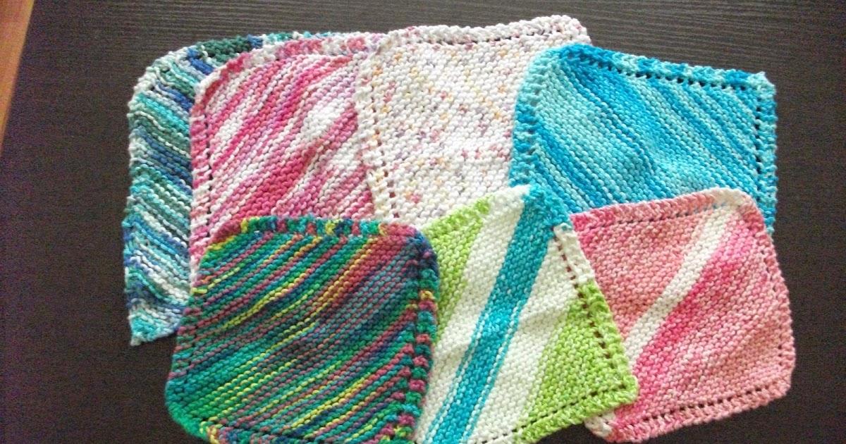 Knitting Granny Dishcloth : The wheelhouse grandma`s favorite dishcloth