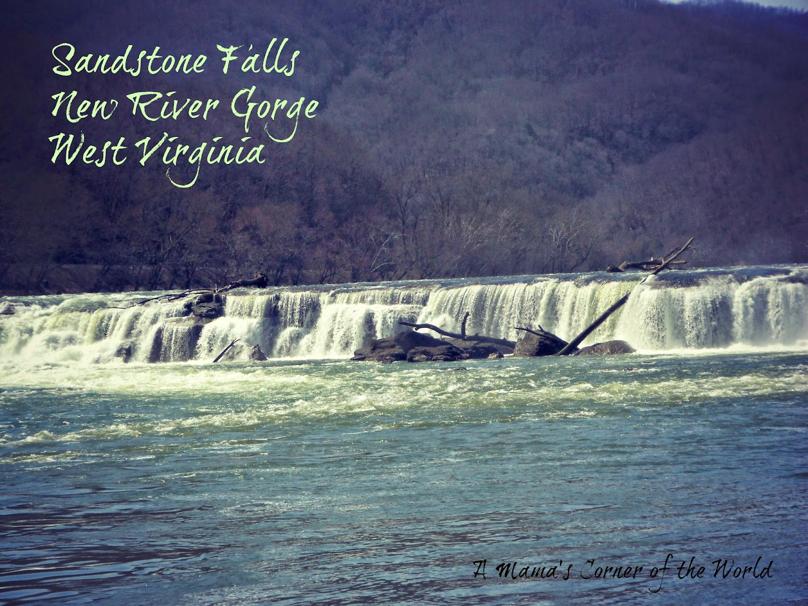 Sandstone Falls New River Gorge
