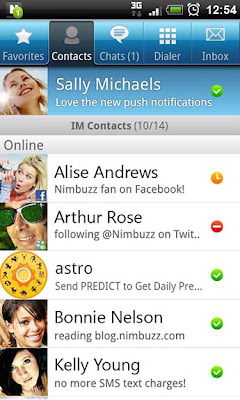 Download Latest Nimbuzz for Android