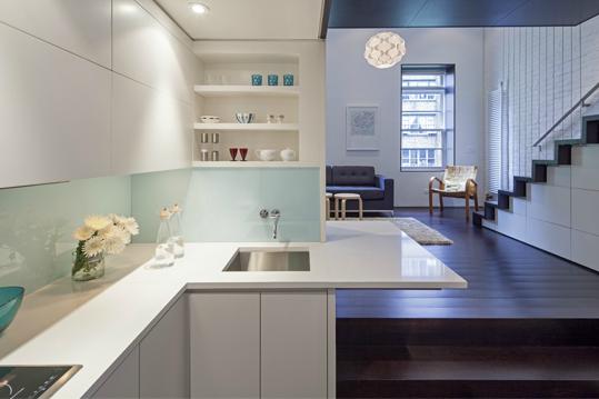 Cocina perfecta para espacios peque os cocinas con estilo for Cocinas en espacios reducidos
