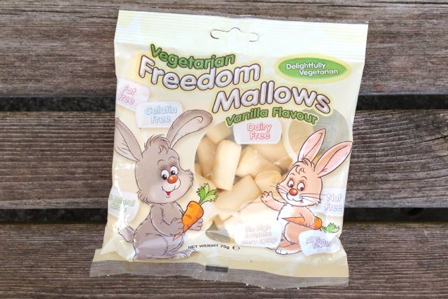 Freedom Mallows vegan marshmallows
