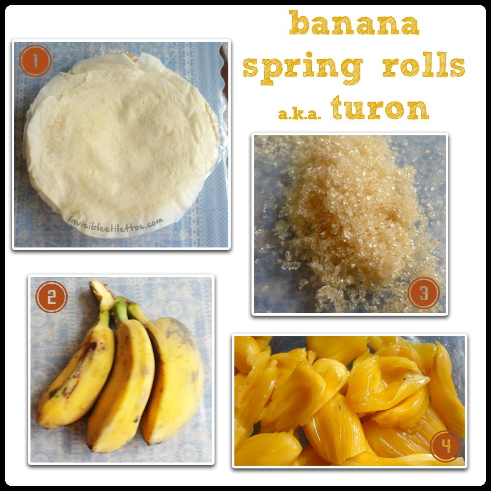 Banana Spring Rolls a.k.a. Turon
