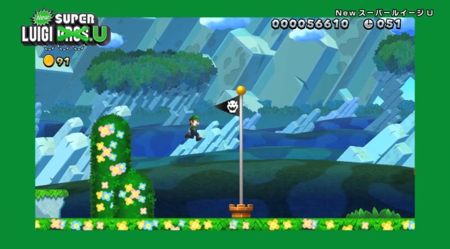 Screenshot of New Super Luigi U