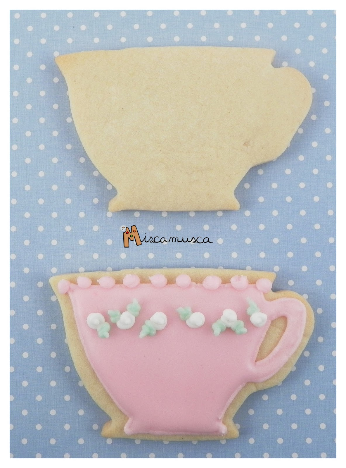 Galleta taza curso galletas decoradas