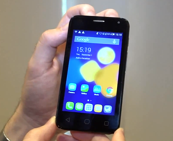 Alcatel One Touch Pixi First