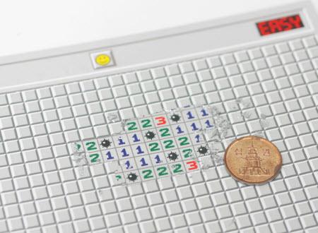 Minesweeper Post Card: Una original raspadita del querido Buscaminas