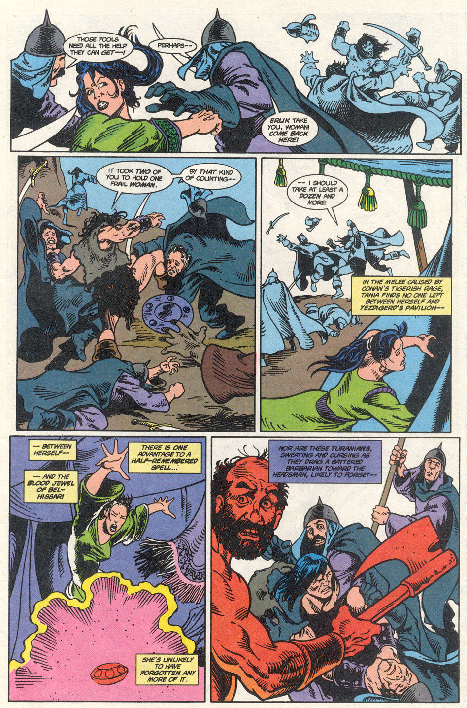 Conan the Barbarian (1970) Issue #275 #287 - English 44